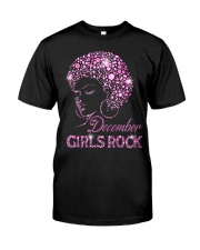 DECEMBER GIRLS ROCK Classic T-Shirt thumbnail