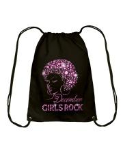 DECEMBER GIRLS ROCK Drawstring Bag thumbnail