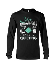 I PLANT ON QUILTING Long Sleeve Tee thumbnail