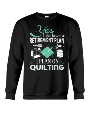 I PLANT ON QUILTING Crewneck Sweatshirt thumbnail