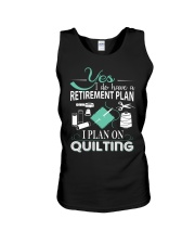 I PLANT ON QUILTING Unisex Tank thumbnail