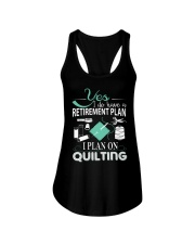 I PLANT ON QUILTING Ladies Flowy Tank thumbnail