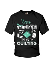I PLANT ON QUILTING Youth T-Shirt thumbnail