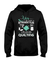 I PLANT ON QUILTING Hooded Sweatshirt thumbnail