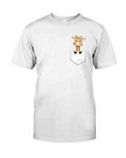 GIRAFFE POCKET Classic T-Shirt front
