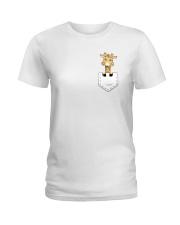 GIRAFFE POCKET Ladies T-Shirt thumbnail