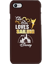 This girl loves sailing Phone Case tile