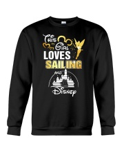 This girl loves sailing Crewneck Sweatshirt tile