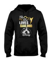 This girl loves sailing Hooded Sweatshirt tile