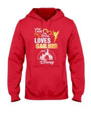 This girl loves sailing Hooded Sweatshirt front