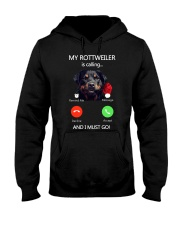 MY ROTTWEILER IS CALLING Hooded Sweatshirt thumbnail