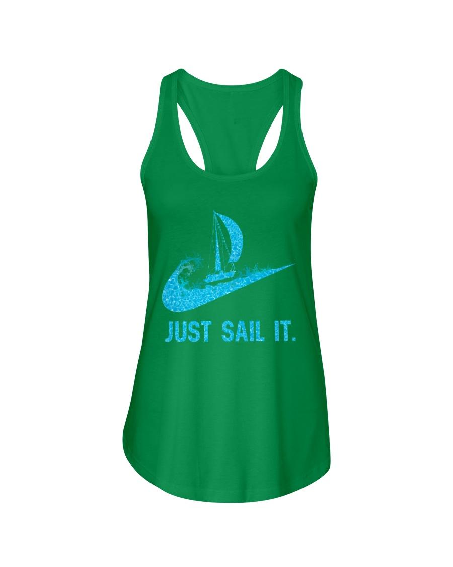 Just sail it Ladies Flowy Tank