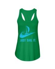 Just sail it Ladies Flowy Tank front