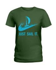 Just sail it Ladies T-Shirt front