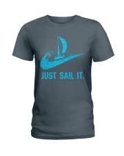 Just sail it Ladies T-Shirt front