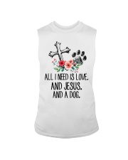 ALL I NEED IS LOVE Sleeveless Tee thumbnail
