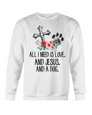 ALL I NEED IS LOVE Crewneck Sweatshirt thumbnail