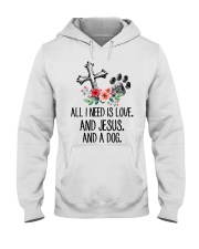 ALL I NEED IS LOVE Hooded Sweatshirt thumbnail