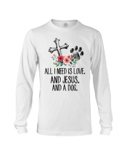 ALL I NEED IS LOVE Long Sleeve Tee thumbnail