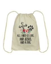 ALL I NEED IS LOVE Drawstring Bag thumbnail