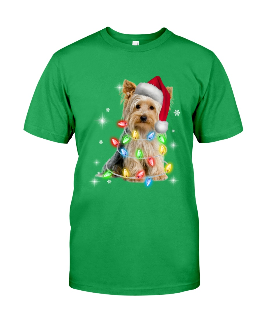 YORKSHIRE TERRIER CHRISTMAS Classic T-Shirt