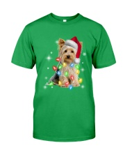 YORKSHIRE TERRIER CHRISTMAS Classic T-Shirt front