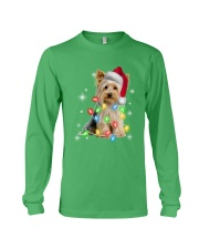YORKSHIRE TERRIER CHRISTMAS Long Sleeve Tee front