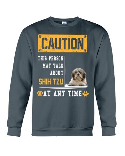 THIS PERSON MAY TALK ABOUT SHIH TZU