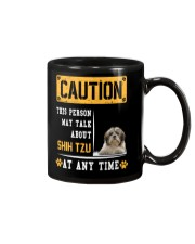 THIS PERSON MAY TALK ABOUT SHIH TZU Mug thumbnail