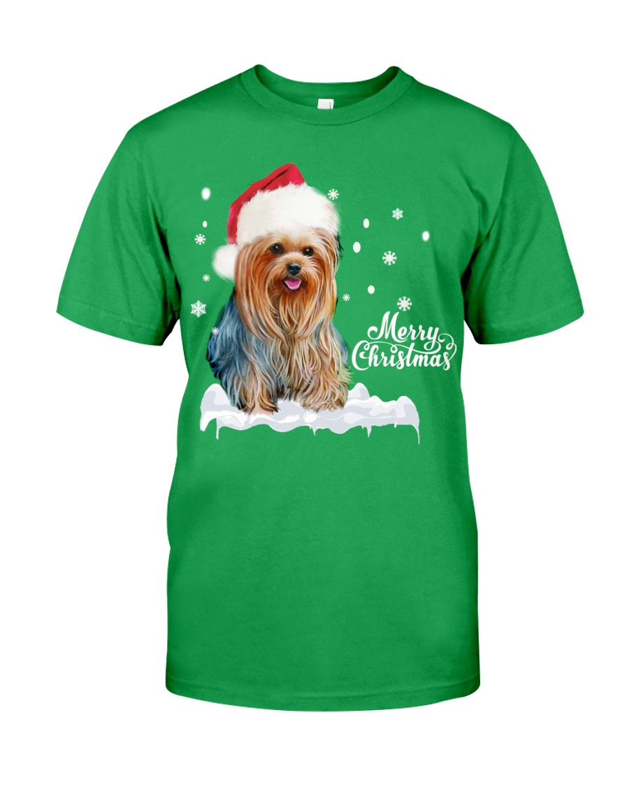 YORKSHIRE TERRIER CHRISTMAS Classic T-Shirt