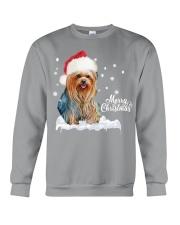 YORKSHIRE TERRIER CHRISTMAS Crewneck Sweatshirt front