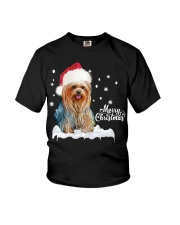 YORKSHIRE TERRIER CHRISTMAS Youth T-Shirt thumbnail