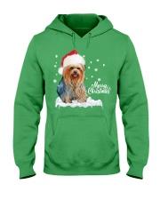 YORKSHIRE TERRIER CHRISTMAS Hooded Sweatshirt front