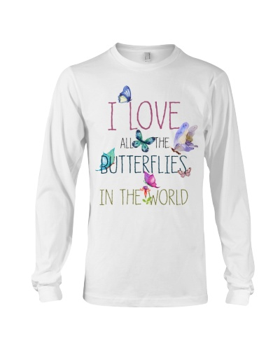 I LOVE BUTTERFLIES