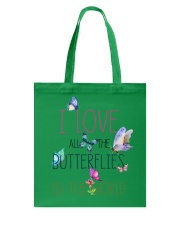 I LOVE BUTTERFLIES Tote Bag thumbnail