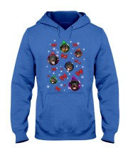 ROTTIES IN BALLS Hooded Sweatshirt front
