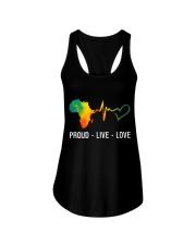 PROUD LIVE LOVE Ladies Flowy Tank thumbnail