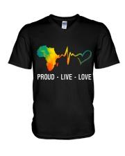 PROUD LIVE LOVE V-Neck T-Shirt thumbnail