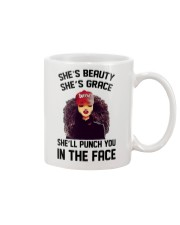 SHE'LL PUNCH YOU IN THE FACE Mug thumbnail