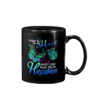 Butterfly Will Hold You In My Heart Mug thumbnail