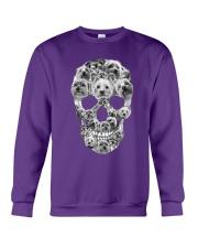 YORKSHIRE TERRIER SKLL Crewneck Sweatshirt front