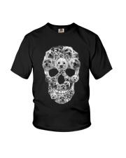 YORKSHIRE TERRIER SKLL Youth T-Shirt thumbnail