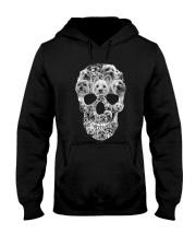 YORKSHIRE TERRIER SKLL Hooded Sweatshirt thumbnail