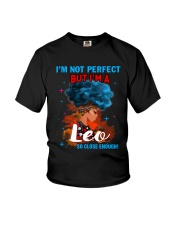 LEO CLOSE ENOUGH TO PERFECT Youth T-Shirt thumbnail