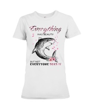 EVERYTHINGS-SHARK Premium Fit Ladies Tee thumbnail