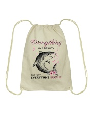 EVERYTHINGS-SHARK Drawstring Bag thumbnail