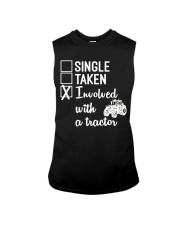 INVOLVED WITH A TRACTOR Sleeveless Tee thumbnail