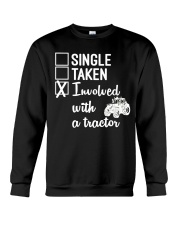 INVOLVED WITH A TRACTOR Crewneck Sweatshirt thumbnail