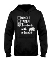 INVOLVED WITH A TRACTOR Hooded Sweatshirt thumbnail