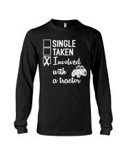 INVOLVED WITH A TRACTOR Long Sleeve Tee thumbnail